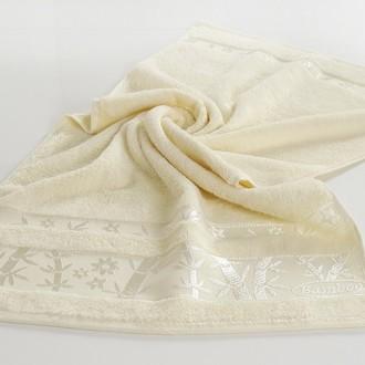 Полотенце для ванной Pupilla ELIT бамбуковая махра (кремовый)