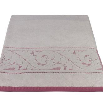 Полотенце для ванной Hobby Home Collection SULTAN хлопковая махра светло-бордовый