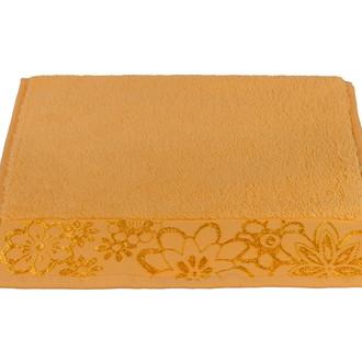 Полотенце для ванной Hobby Home Collection DORA хлопковая махра (светло-оранжевый)