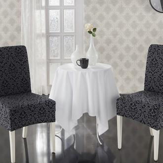 Набор чехлов на стулья (2 шт.) Karna MILANO (антрацит)