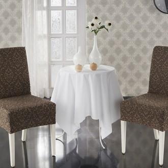 Набор чехлов на стулья (2 шт.) Karna MILANO (коричневый)