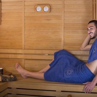 Набор для сауны мужской Karna BAREL махра хлопок (парламент)