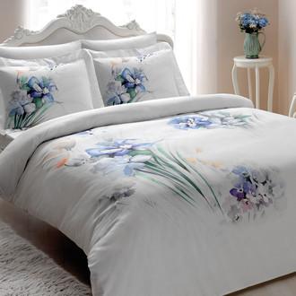 Комплект постельного белья Tivolyo Home CAMILLA хлопковый люкс-сатин