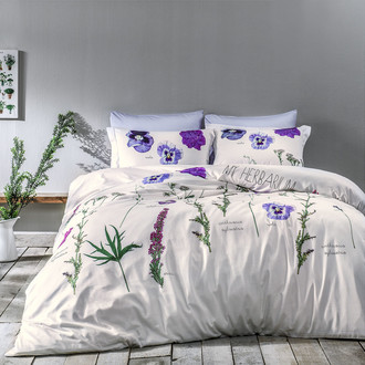 Комплект постельного белья Tivolyo Home FREZIA хлопковый люкс-сатин