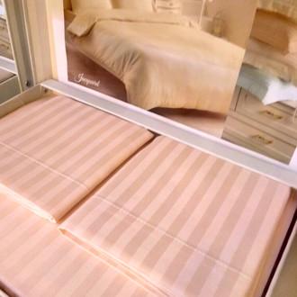 Постельное белье Tivolyo Home JAQUARD сатин-жаккард розовый