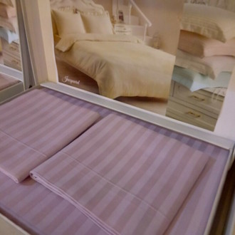 Постельное белье Tivolyo Home JAQUARD сатин-жаккард лиловый