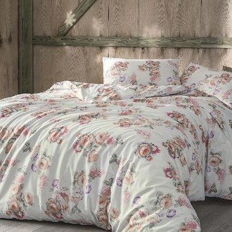 Комплект постельного белья Tivolyo Home LORETTA хлопковый ранфорс