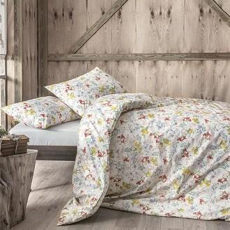 Комплект постельного белья Tivolyo Home ELISE хлопковый ранфорс