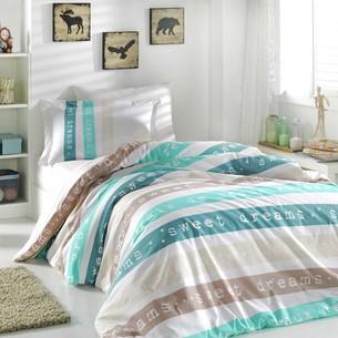 Постельное белье Hobby Home Collection SWEET DREAMS хлопковый поплин кремовый 1,5 спальный