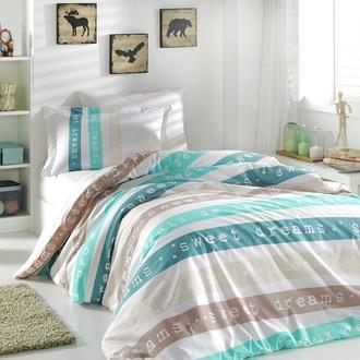 Комплект постельного белья Hobby Home Collection SWEET DREAMS хлопковый поплин (кремовый)