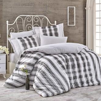 Комплект постельного белья Hobby Home Collection DEBORA хлопковый поплин (серый)