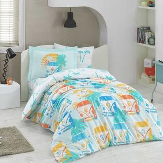 Комплект постельного белья Hobby Home Collection RENATA хлопковый поплин (минт)