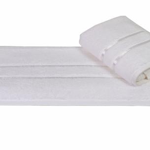 Полотенце для ванной Hobby Home Collection DOLCE хлопковый микрокоттон белый 30х50
