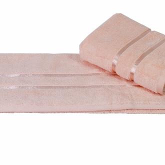 Полотенце для ванной Hobby Home Collection DOLCE хлопковый микрокоттон персиковый