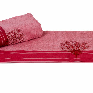 Полотенце для ванной Hobby Home Collection INFINITY хлопковая махра светло-розовый 70х140