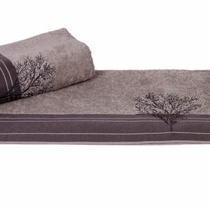 Полотенце для ванной Hobby Home Collection INFINITY хлопковая махра серый 70х140