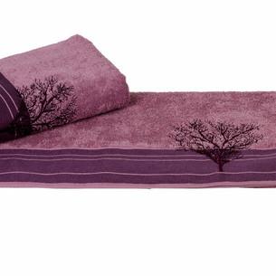 Полотенце для ванной Hobby Home Collection INFINITY хлопковая махра фиолетовый 70х140