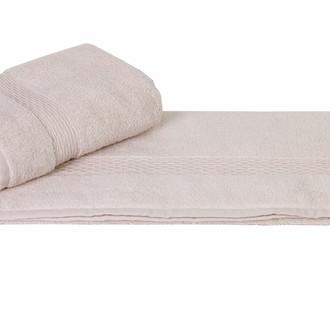 Полотенце для ванной Hobby Home Collection FIRUZE хлопковая махра (кремовый)