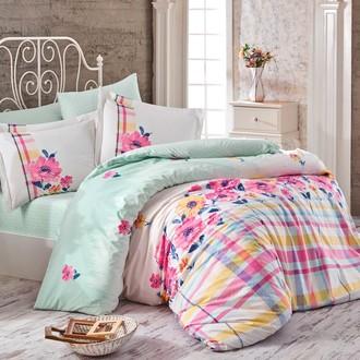 Комплект постельного белья Hobby Home Collection NORMA хлопковый поплин (розовый)