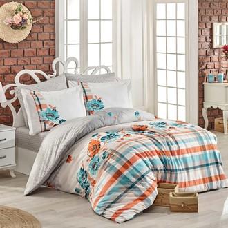 Комплект постельного белья Hobby Home Collection NORMA хлопковый поплин (серый)