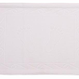 Коврик для ванной Hobby Home Collection HAYAL хлопковая махра белый 50х70