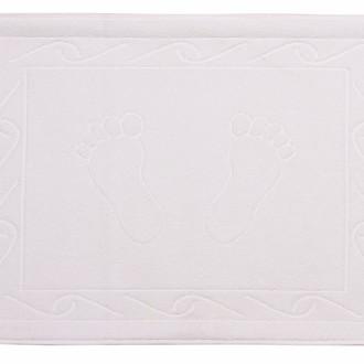 Коврик для ванной Hobby Home Collection HAYAL хлопковая махра белый