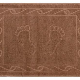 Коврики для ванной Hobby Home Collection HAYAL хлопковая махра (коричневый)