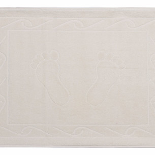 Коврик для ванной Hobby Home Collection HAYAL хлопковая махра кремовый 50х70