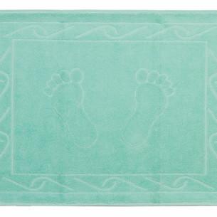 Коврик для ванной Hobby Home Collection HAYAL хлопковая махра минт 50х70