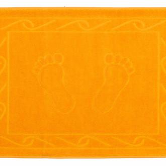 Коврик для ванной Hobby Home Collection HAYAL хлопковая махра оранжевый