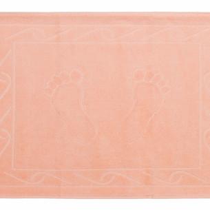Коврик для ванной Hobby Home Collection HAYAL хлопковая махра персиковый 50х70