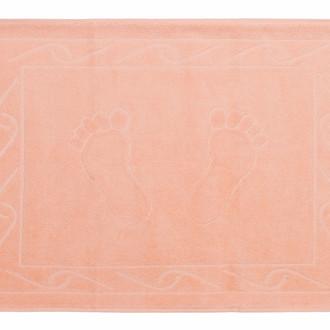 Коврик для ванной Hobby Home Collection HAYAL хлопковая махра персиковый