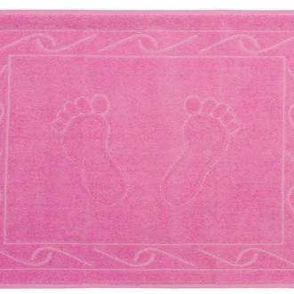 Коврик для ванной Hobby Home Collection HAYAL хлопковая махра розовый