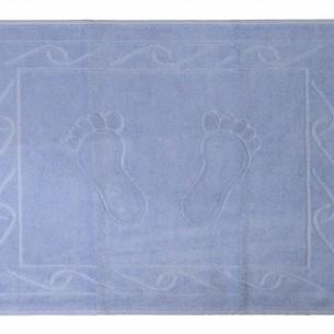Коврик для ванной Hobby Home Collection HAYAL хлопковая махра светло-голубой 50х70
