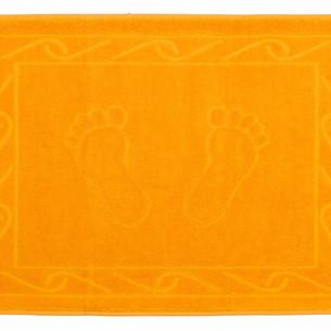 Коврик для ванной Hobby Home Collection HAYAL хлопковая махра тёмно-жёлтый 50х70