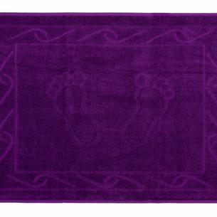 Коврик для ванной Hobby Home Collection HAYAL хлопковая махра фиолетовый 50х70
