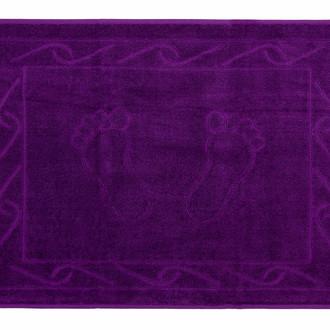 Коврик для ванной Hobby Home Collection HAYAL хлопковая махра фиолетовый
