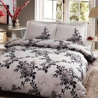 Комплект постельного белья TAC DELUX LORCA хлопковый сатин deluxe (серый)