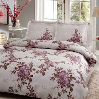 Комплект постельного белья TAC DELUX LORCA хлопковый сатин deluxe (лиловый)