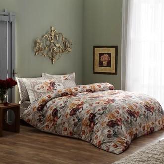 Комплект постельного белья TAC DIGITAL SHARON хлопковый сатин (розовый)