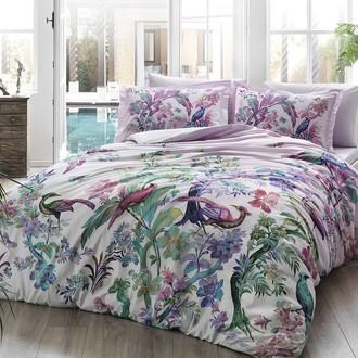 Комплект постельного белья TAC DIGITAL GALENA хлопковый сатин (лиловый)