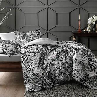 Комплект постельного белья TAC DIGITAL VENUS хлопковый сатин (серый)
