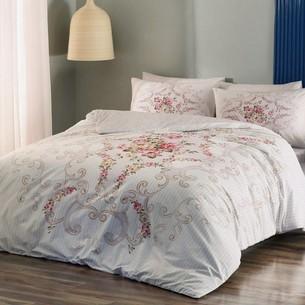 Постельное белье TAC HAPPY DAYS YASMIN хлопковый ранфорс розовый 1,5 спальный