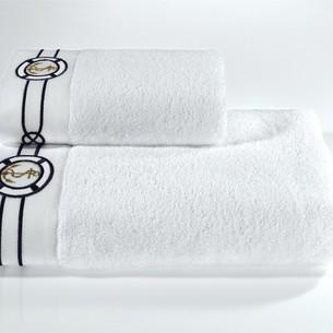 Полотенце для ванной Soft Cotton MARINE хлопковая махра белый 85х150