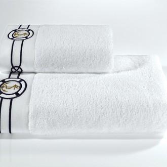 Полотенце для ванной Soft Cotton MARINE хлопковая махра (белый)