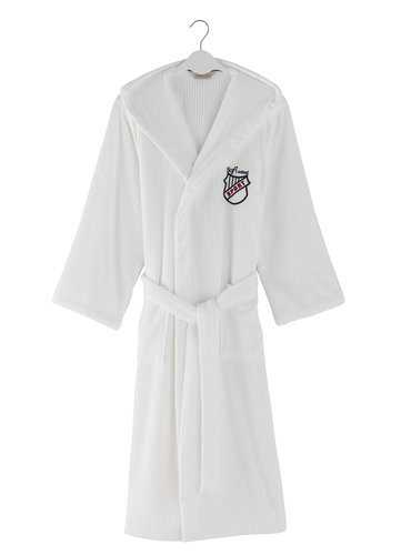 Халат мужской Soft Cotton SOHO SPORT хлопковая махра белый XL, фото, фотография