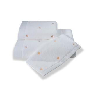 Полотенце для ванной Soft Cotton LOVE микрокоттон персиковый