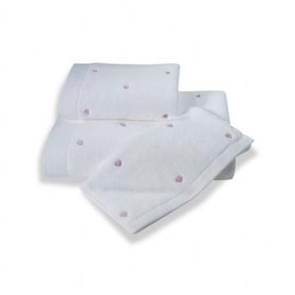 Полотенце для ванной Soft Cotton LOVE микрокоттон (фиолетовый)