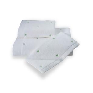 Полотенце для ванной Soft Cotton LOVE микрокоттон зелёный 75х150