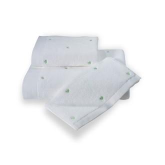 Полотенце для ванной Soft Cotton LOVE микрокоттон зелёный
